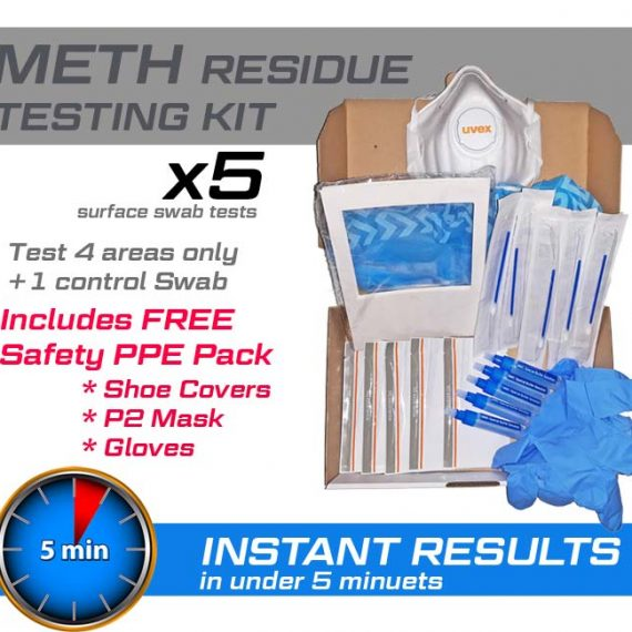 Meth Lab Residue Testing Kits | test for meth contamination